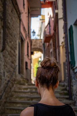 Cinque Terre, bunte Häuser, Italien, Ligurisches Meer, UNESCO Welterbe, Fünf Dörfer, Die Traumreiser, Gassen