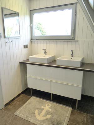 Ein Doppelwaschbecken für mehr Komfort