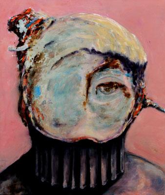 Inspection House (2015) oil on canvas 80 x 68 cm