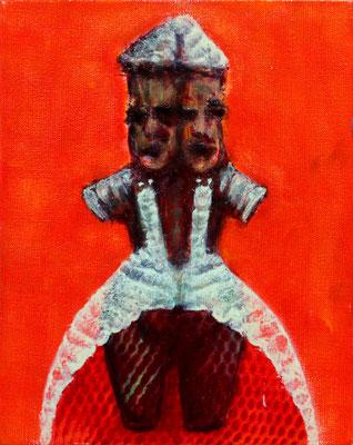Janoide (2020)  oil on canvas 30 x 24 cm