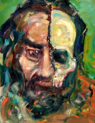 Portrait Study A. K. (2013/17) oil on canvas 65 x 50 cm