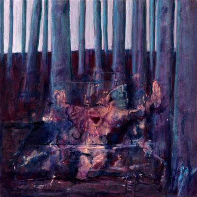 Goblin (2021) oil on canvas 70 x 70 cm
