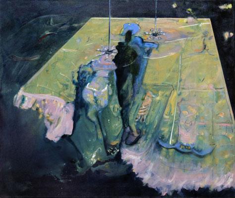 Tonight (2015) oil on canvas 68 x 80 cm