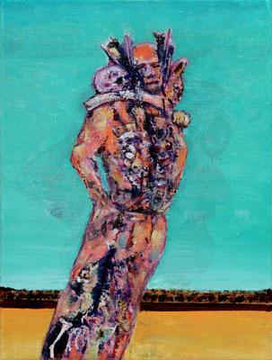 Ace Trinity (2020) oil on canvas 40 x 30 cm