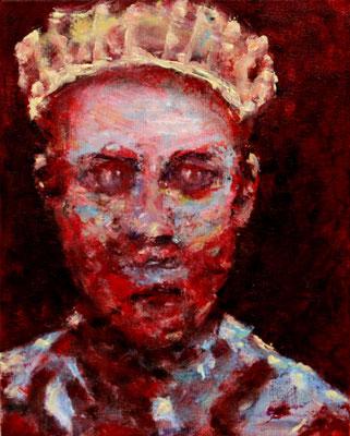 Potentate (2018) oil on canvas 30 x 24 cm
