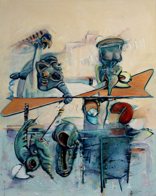 DMF-320 (2014) oil on canvas 150 x 120 cm