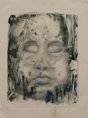 Baby (2012) oil on paper 74 x 54 cm