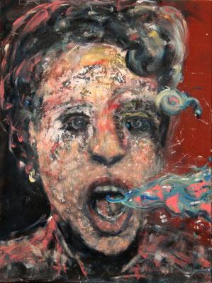 AJW (2014) oil on canvas 80 x 65 cm