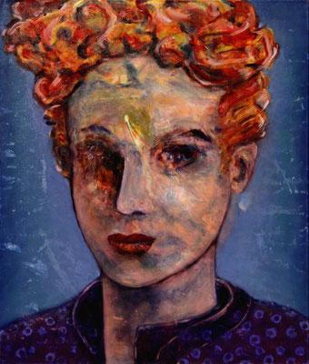 Vivienne (2020) oil, acrylic on canvas 80 x 68 cm