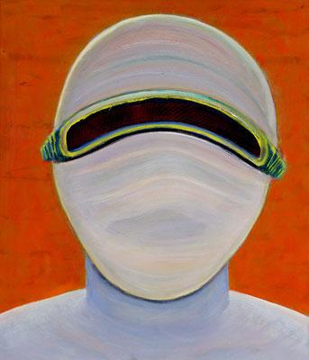 Noch-Nicht (2019) oil on canvas 80 x 68 cm