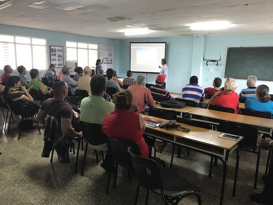 "Curso ""biodigestores tipo laguna"" Cuba - Proyecto DeveloPPP GIZ"""