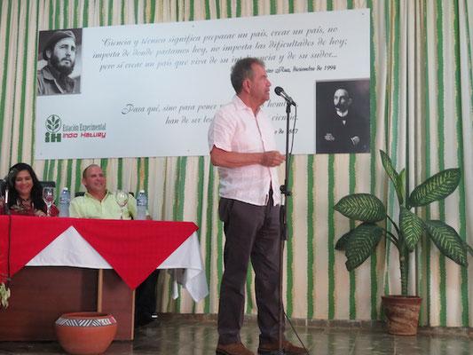 Conferencia biodigestores tropicalizados en Cuba - Proyecto DeveloPPP GIZ