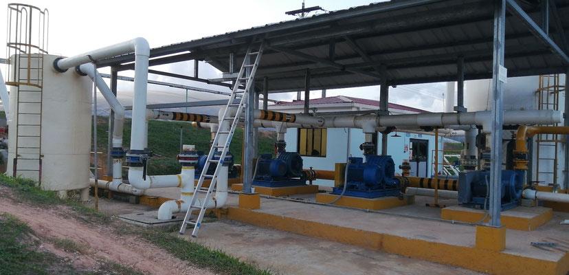 Soplador - compresor Atex para biogas en biodigestor aceite de palma africana