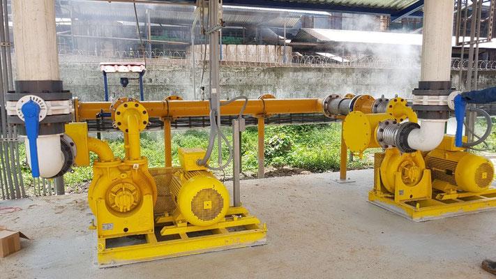 Sopladores para biogas - version ATEX
