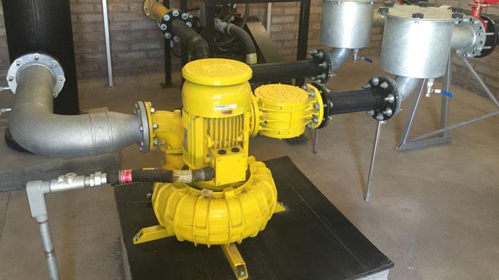 Sopladores para biogás - normativa ATEX