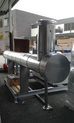 Enfriador de biogas - secador de biogás - Chiller de biogás