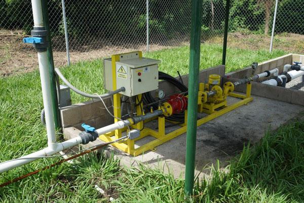 Tren de calibracion - soplador biogás - Sopladores Atex para biogas  - tren de biogas