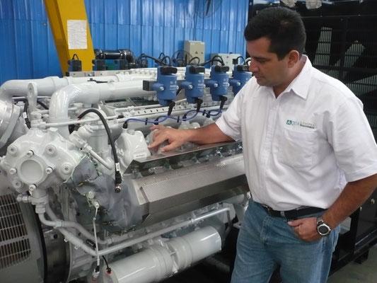 Generadores a biogas - motor alemán MAN