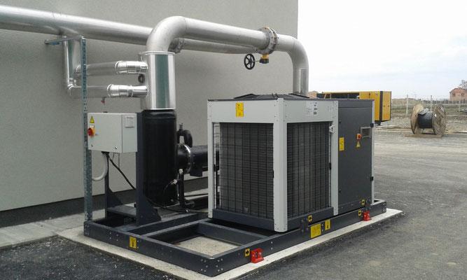 Enfriadores de biogás