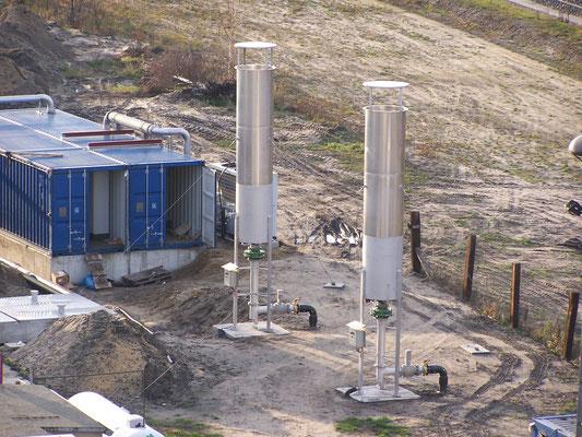 Antorchas para biogás - Flares biogas