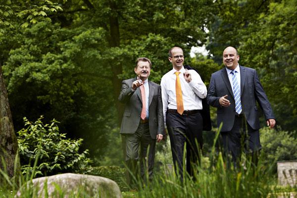 Wahlkampf-Kampagne CDU Kreisverband Fulda // Dr. Walter Arnold, Michael Brand, Markus Meysner // People . Porträt