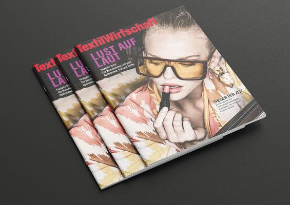 Delicatelove // Cover Magazin Textilwirtschaft // Fashion . People