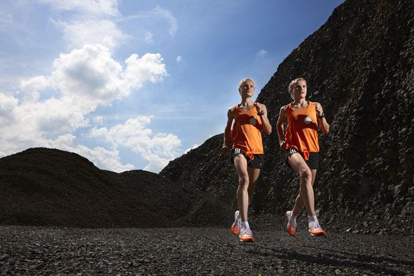 Hahner Twins // IETEC Orthopädische Einlagen // Image . Sport . People