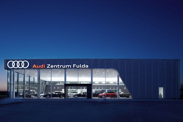 Audi Zentrum Fulda Atzert & Weber // Image . Architektur