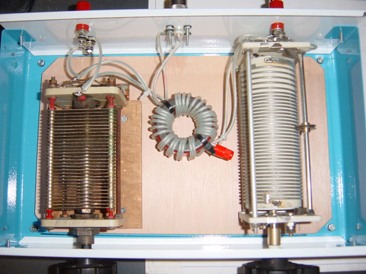 Antenne tuning (S match)