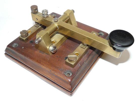 Morse Key Gebr. Caminada Rotterdam. ~1900