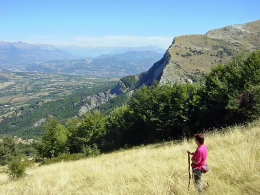 Een mooie klim naar de top van de berg Ceuse 2016 M. La Montagne Manteyer Frankrijk