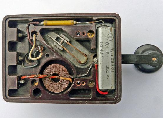 German - Junker Key. Prevent sparking. 1932.
