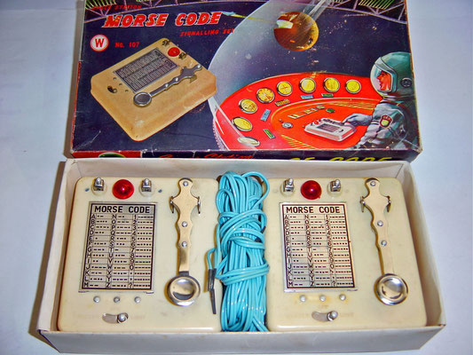 Hong Kong - Toy Morse Code Signalling Set.