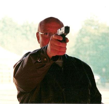 Schietbaan Mariniers. Met Glock 17.