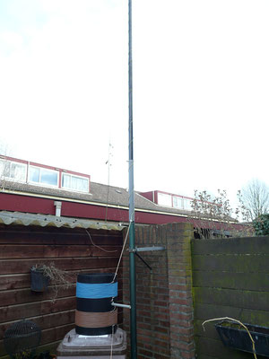 475 kHz Antenna.  Mast 15M high. With vario meter.