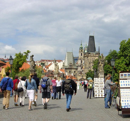 Tsjechie Karelsbrug Praag