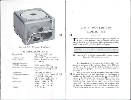 G.N.T. Morseinker Model 1532.
