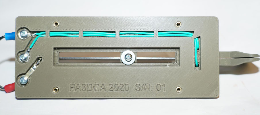 Beautiful  Sideswiper cootie key made by Minto PA3BCA.