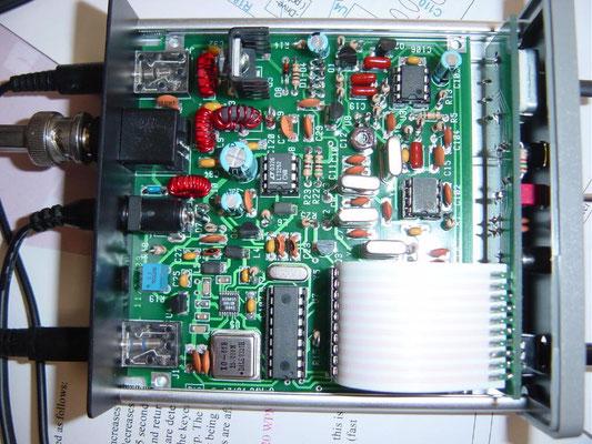De DSW-80 is een QRP CW zend ontvanger voor de 80meter band