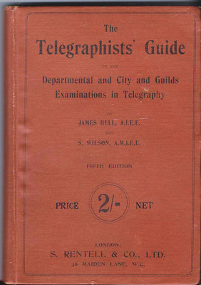 This signal key was described in 1895 in the book (The telegraphists' guide).