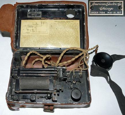 Service buzzer Signal Corps U.S. Army Model 1914.