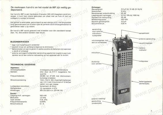 Handleiding Handic 66F