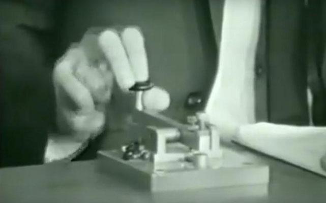 These training keys were used at Radio Holland for Radio Telegrafist.