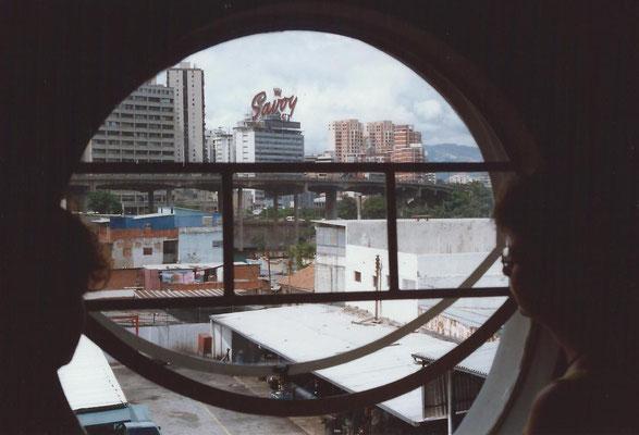 Caracas Venezuela foto van uit het hotel Escorial.