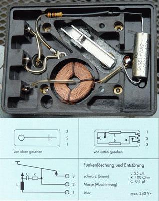 Junker Morse Key. Prevent sparking.