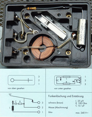 Junker Morse Key. Prevent sparking.