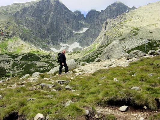 Wandeling op de Tatra gebergte Slowakije.
