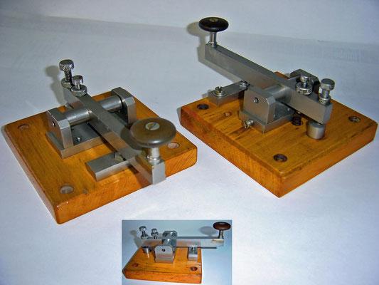 These training keys were used at Radio Holland for Radio Telegrafist