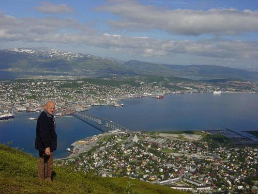 Tromso Noord Noorwegen.