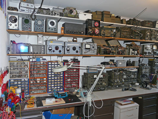 My Radio room (Shack)